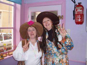 Annie et Michèle vous accueillent